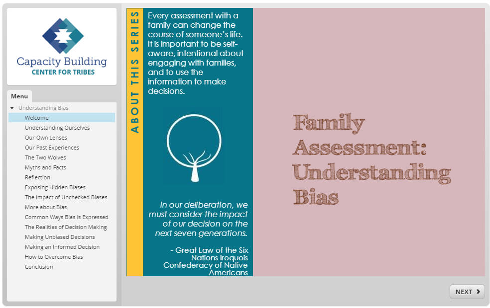 Family Assessment: Understanding Bias