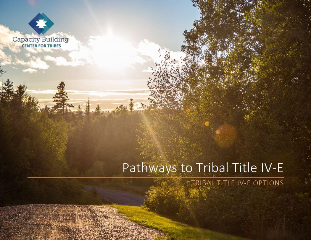 Pathways to Tribal Title IV-E cover