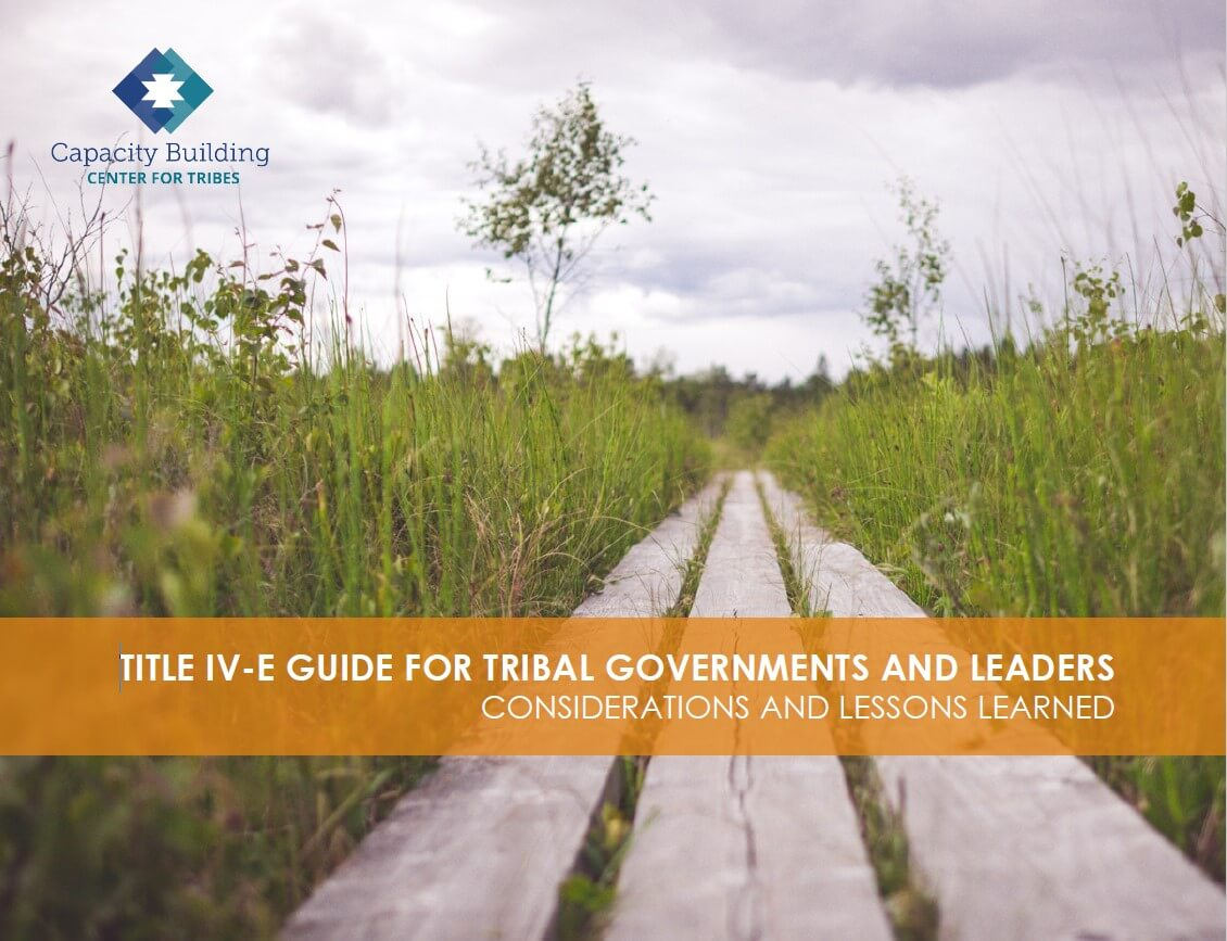 Title IV-E Guide for Tribal Governments and Leaders cover