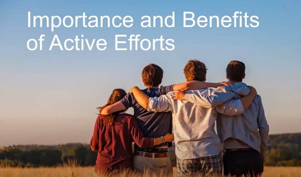 Active Efforts Webinar cover