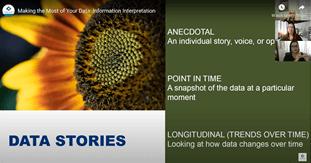 Data stories descriptions